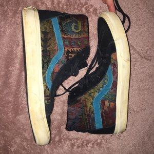 Vans Hi top Italian Weave Tapestry 8.5